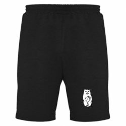 Мужские шорты Кот с факом - PrintSalon