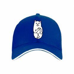 кепка Кот с факом - PrintSalon