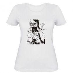 Женская футболка Козачина з люлькою - PrintSalon