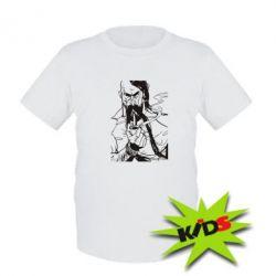 Детская футболка Козачина з люлькою - PrintSalon