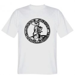 Мужская футболка Козак з мушкетом - PrintSalon