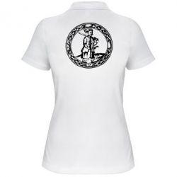 Женская футболка поло Козак з мушкетом - PrintSalon
