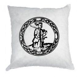 Подушка Козак з мушкетом - PrintSalon