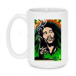 Кружка 420ml Боб Марли