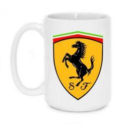 Кружка 420ml Ferrari