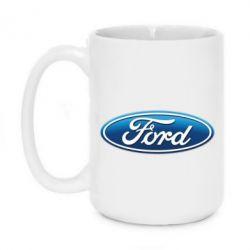 Кружка 420ml Ford 3D Logo - PrintSalon