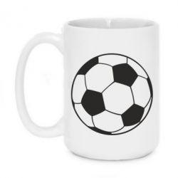 Кружка 420ml Футбольний м яч - PrintSalon 765c09ac8fb17