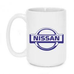 Кружка 420ml логотип Nissan - PrintSalon