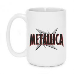 Кружка 420ml Metallica Logo - PrintSalon