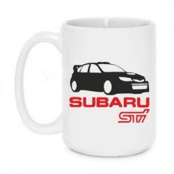 Кружка 420ml Subaru STI