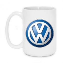 Кружка 420ml Volkswagen 3D Logo