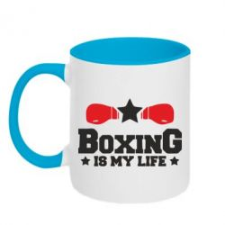 "boxing is my life ""boxing saved my life because it's taught me how to live i've had mental illness problems my entire life and in rugby league in my early days, i wasn't mentally strong."