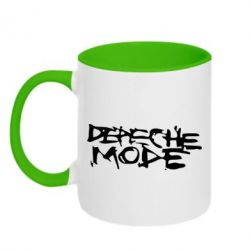Кружка двухцветная Depeche mode - PrintSalon