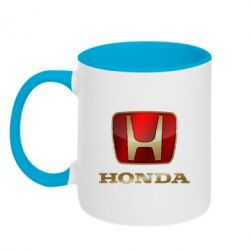 Кружка двухцветная Gold Honda - PrintSalon