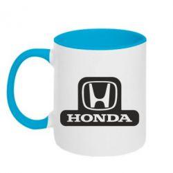Кружка двухцветная Honda Stik
