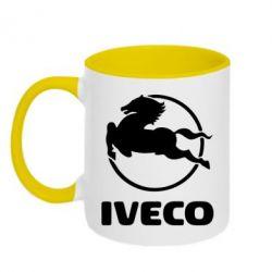 Кружка двухцветная IVECO