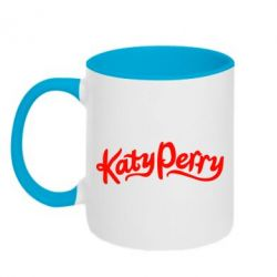 Кружка двухцветная Katy Perry