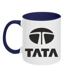 Кружка двухцветная TaTa