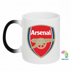 Кружка-хамелеон Arsenal - PrintSalon