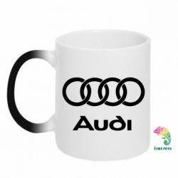 Кружка-хамелеон Audi - PrintSalon