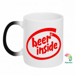 Кружка-хамелеон Beer Inside - PrintSalon