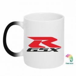 Кружка-хамелеон GSX-R