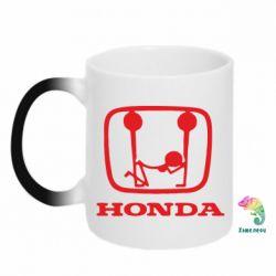Кружка-хамелеон Honda - PrintSalon