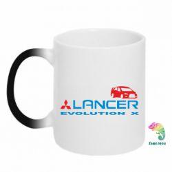 Кружка-хамелеон Lancer Evolution X