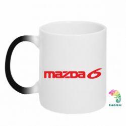 Кружка-хамелеон Mazda 6 - PrintSalon