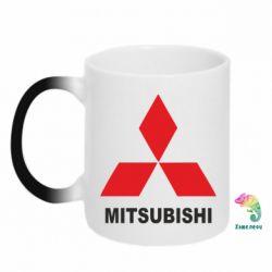 Кружка-хамелеон MITSUBISHI - PrintSalon