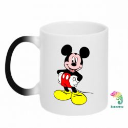 Кружка-хамелеон Сool Mickey Mouse - PrintSalon