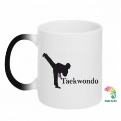 Кружка-хамелеон Taekwondo