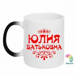 Кружка-хамелеон Юлія Батьковна - PrintSalon