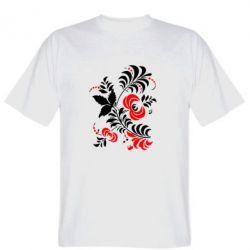Мужская футболка Квіти - PrintSalon