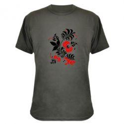 Камуфляжная футболка Квіти - PrintSalon