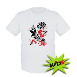 Детская футболка Квіти - PrintSalon