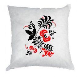 Подушка Квіти - PrintSalon
