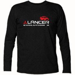 Футболка с длинным рукавом Lancer Evolution X