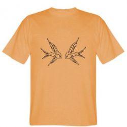 Чоловічі футболки з зображенням ластівки - купити в Києві 4b0a629363721
