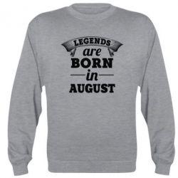 Реглан Legends are born in August - PrintSalon