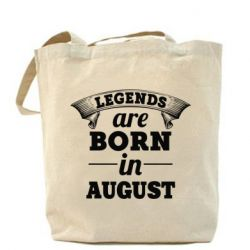 Сумка Legends are born in August