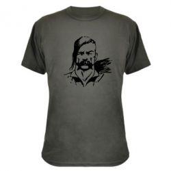 Камуфляжная футболка Лице українського козака