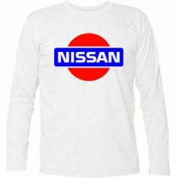 Футболка с длинным рукавом Logo Nissan