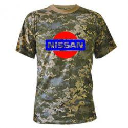 Камуфляжная футболка Logo Nissan