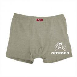 Мужские трусы Логотип Citroen - PrintSalon