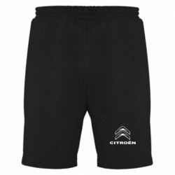 Мужские шорты Логотип Citroen - PrintSalon