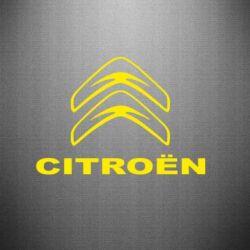 Наклейка Логотип Citroen - PrintSalon