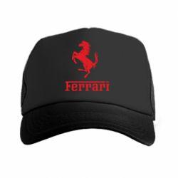 Кепка-тракер логотип Ferrari