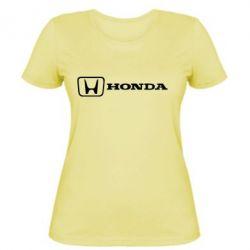 Женская Логотип Honda - PrintSalon