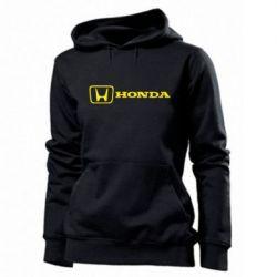 Женская толстовка Логотип Honda - PrintSalon